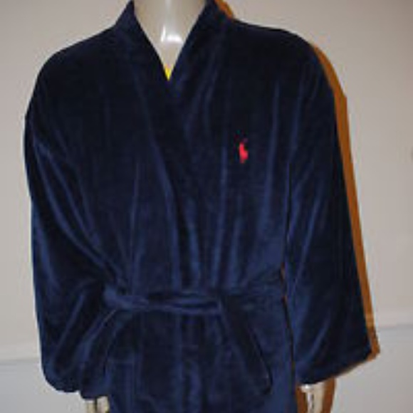 Polo by Ralph Lauren Other   Polo Ralph Lauren Terry Kimono Robe ... dee29b615fd